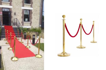 saint paul location tapis rouge poteaux. Black Bedroom Furniture Sets. Home Design Ideas