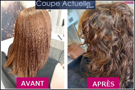 Coupe, couleur et brushing